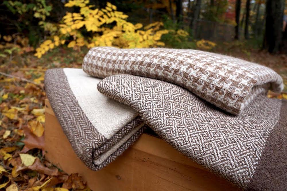 Maine Alpaca Blanket Pacanaturals